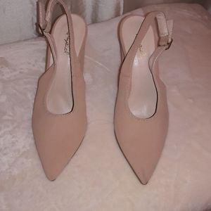 Shoes - Qupid block heel shoes size 6